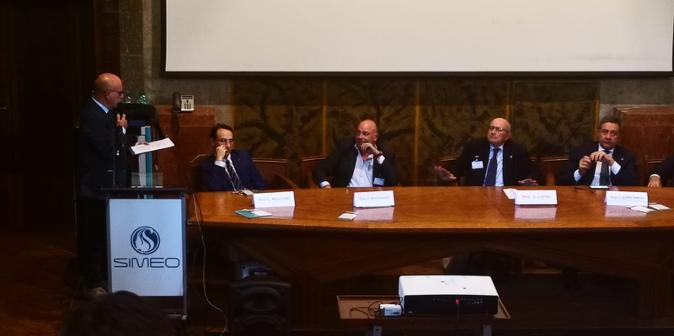 Intervento del Dott. Valerio Partipilo (AIOLA) al CONGRESSO NAZIONALE SIMEO (Società Italiana di Medicina Estetica Odontoiatrica). 2019 .
