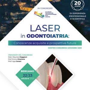 XV Congresso A.I.O.L.A: Laser in Odontoiatria. Conoscenze acquisite e prospettive future
