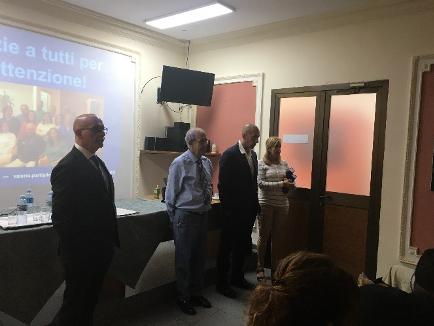 Dott. Valerio Partipilo,AIOLA al Centro Nacional de Estomatologia de Cuba. Nov 2019